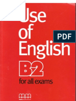 Use of English B2 for All Exames SB