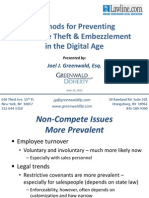 Employee Theft Prevention and Digital Forensics