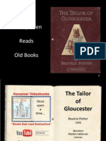 The Tailor of Glouchester, Beatrix Potter, AutoPlay