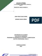 Proyecto Final Redes II