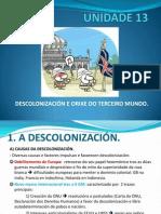 UNIDADE 13. Descolonizacion e Terceiro Mundo