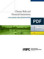 Climate Risk & Financial Institutions