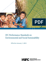 IFC Performance Standards on Environmental & Social Sustainability