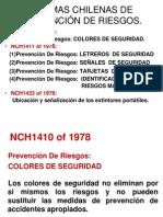 RIESGOS TÍPICOS NORMAS CHILENAS