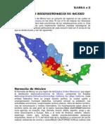 Regiones Socioeconomicas de Mexico