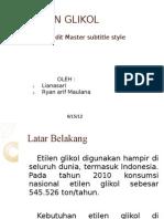 Teknologi Rancangan Pabrik (Ethylene Glycol)