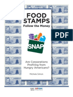Food Stamps? Follow the Money by Michelle Simon