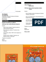 Programa a 21 años del informe Rettig