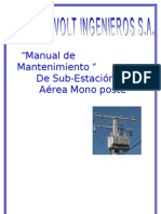 Manual de Mantenimiento s.e Area Monoposte