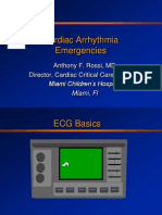 Cardiac Arrhythmia Emergencies