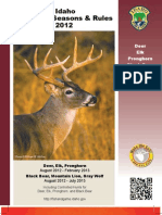 2012 Idaho Big Game Regulations Brochure