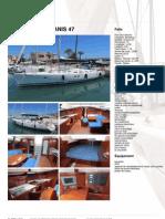 Beneteau Oceanis 47 - French IBC