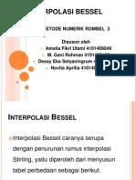 Interpolasi Bessel