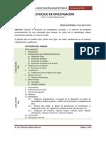 Instructivo Para El Desarrollo de La Investigacion de Tesisi de Arquitectura