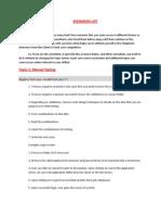 Scenarios List12