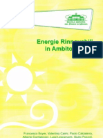 Energie Rinnovabili in Ambito Rurale