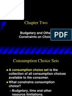 Ch2-Budget Constraints n Choices
