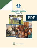Grupos de Rotary Para Fomento de La Comunidad