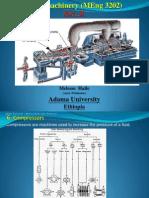 Turbomachinery (MEng 3202) Part II