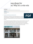 Birla Group Shops for Pantaloon