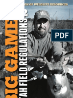 2012 Utah Big Game Field Regs