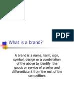 Brand Management MMI