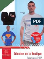 Catalogue 2012 Sapeurs-Pompiers France