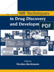 Beckmann_In Vivo MR Techniques in Drug Discovery and Development