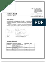 Vaibhav Resume