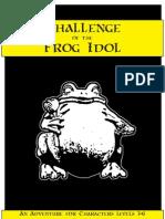 Challenge of the Frog Idol