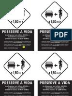 Panfleto Distancia Bicicleta
