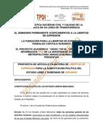 Propuesta Articulo Constitucional Libertad de Expresion Durango (1)