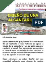 DISEÑO DE UNA ALCANTARILLA