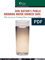 Keeping Our Nation's Public Drinking Water Sources Safe