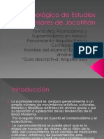 Guia Descriptiva Arquitectura Posmoderna y Supramoderna en Mexico Eduardo Jimenez
