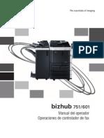 Bizhub 751 601 Ug Fax Driver Operations Es 2 1 1