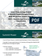 Texas Clean Energy Project
