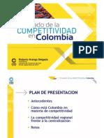 1V El Estado de La Competitividad en Colombia