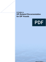 IMCAM109 a Guide to DP-Related Documentation for DP Vessels