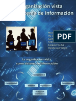 La Organización como Sistema de Información