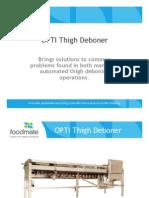 OPTI Thigh Deboner Presentation