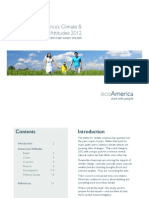 Trends in America's Climate & Environmental Attitudes 2012