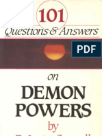 101 Questions and Answers on Demon Powers - lester Sumrall