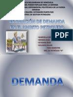 Estimación de la demanda en el ámbito petrolero