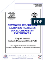 Chemistry-Learning and Teaching for Pupils