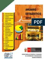 Indice Anuario 2010