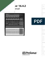 Presonus Studiolive16.4.2 Manual en 1