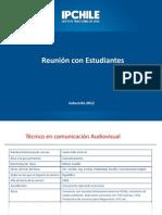 Inducción estudiantes2012_Presentación Reunión Carrera