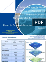 """""""Creación del Consejo de Recursos Hídricos en Cuencas - Perú""""."""