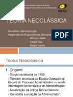 Teoria Neoclássica-Administração